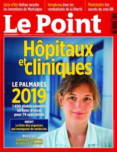 Le Point - 22 août 2019
