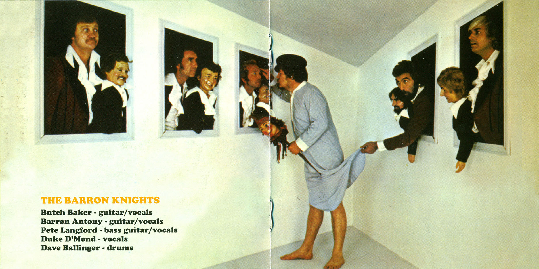 The Barron Knights - Night Gallery (1978) + Teach The World To Laugh (1979) 2CD Set, Remastered Reissue 2010