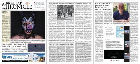 Gibraltar Chronicle – 21 June 2021