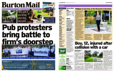 Burton Mail – August 22, 2019
