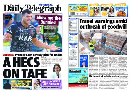 The Daily Telegraph (Sydney) – February 25, 2020
