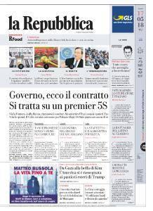 la Repubblica - 17 Maggio 2018