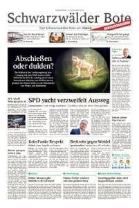 Schwarzwälder Bote Sulz - 22. November 2018
