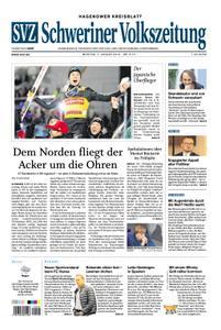 Schweriner Volkszeitung Hagenower Kreisblatt - 07. Januar 2019
