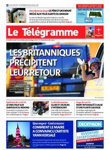 Le Télégramme Ouest Cornouaille – 15 août 2020