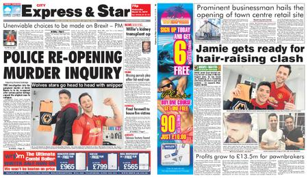 Express and Star City Edition – March 13, 2019