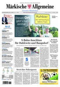 Märkische Allgemeine Zossener Rundschau - 09. Juni 2018