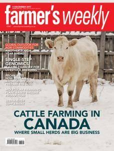Farmer's Weekly - 08 December 2017