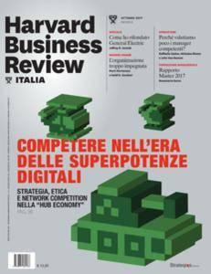 Harvard Business Review Italia - Ottobre 2017