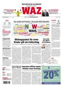 WAZ Westdeutsche Allgemeine Zeitung - 28 April 2017