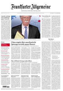Frankfurter Allgemeine Zeitung F.A.Z. - 30. Januar 2019