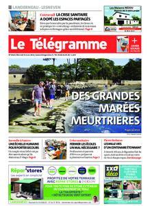 Le Télégramme Landerneau - Lesneven – 31 mars 2021