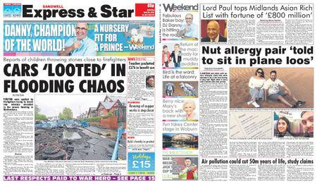 Express and Star Sandwell Edition – April 28, 2018