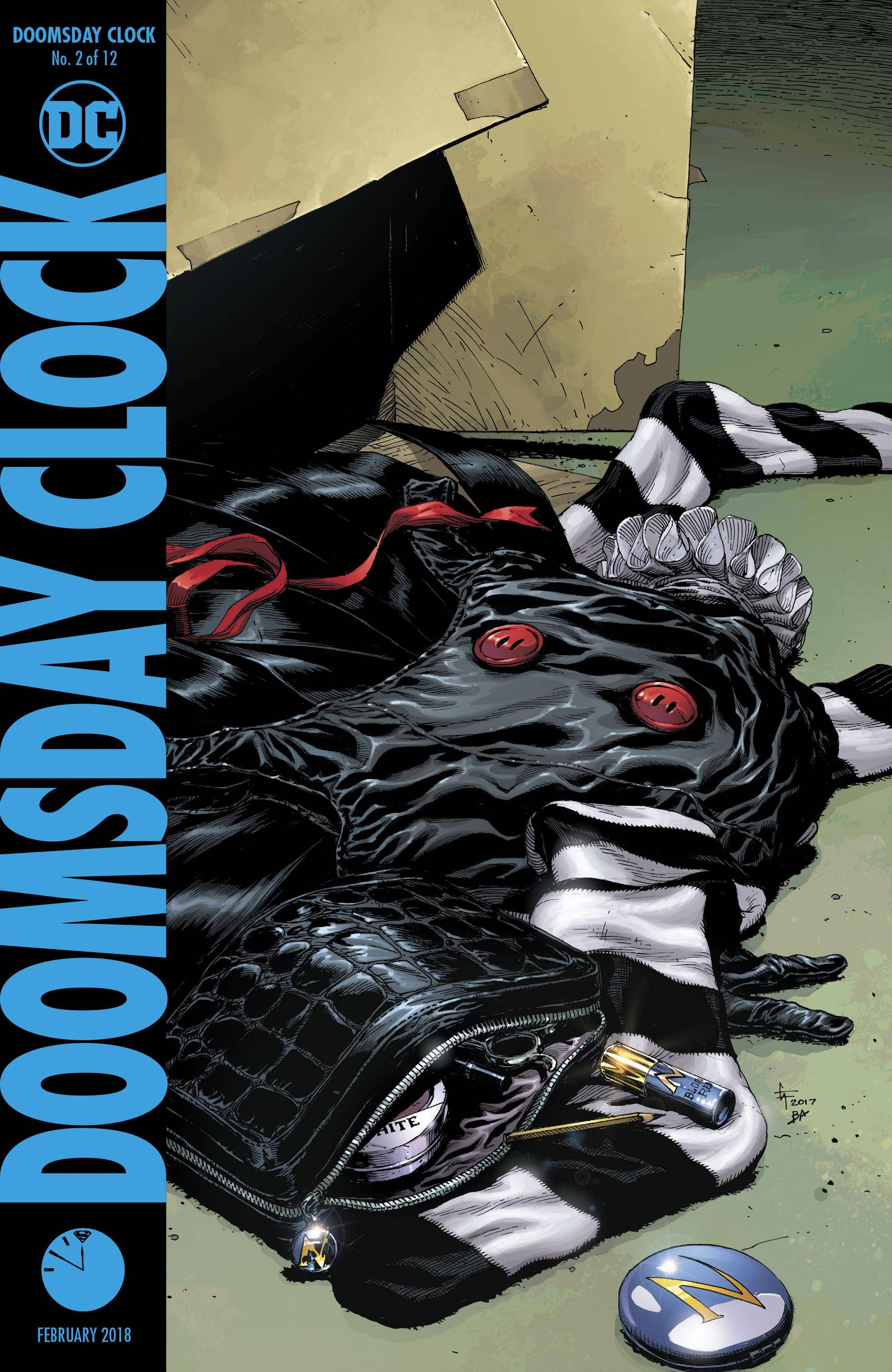 Doomsday Clock 02 of 12 2018 Webrip The Last Kryptonian-DCP