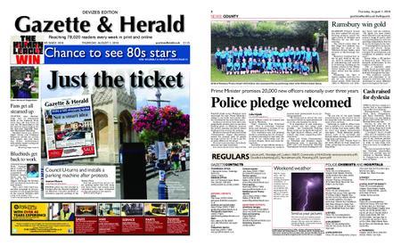 Gazette & Herald – August 01, 2019