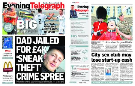 Evening Telegraph First Edition – August 02, 2019