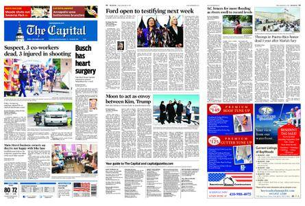 The Capital – September 21, 2018