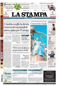 La Stampa Imperia e Sanremo - 16 Ottobre 2017