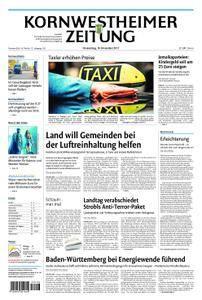 Kornwestheimer Zeitung - 16. November 2017