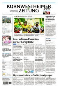 Kornwestheimer Zeitung - 30. Juli 2018