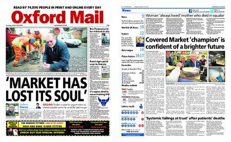 Oxford Mail – March 20, 2018