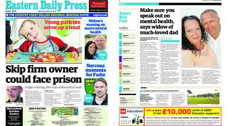 Eastern Daily Press – March 20, 2019