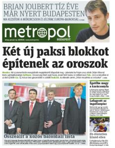 Metro [Hungary - Budapest], 15. Januar 2014