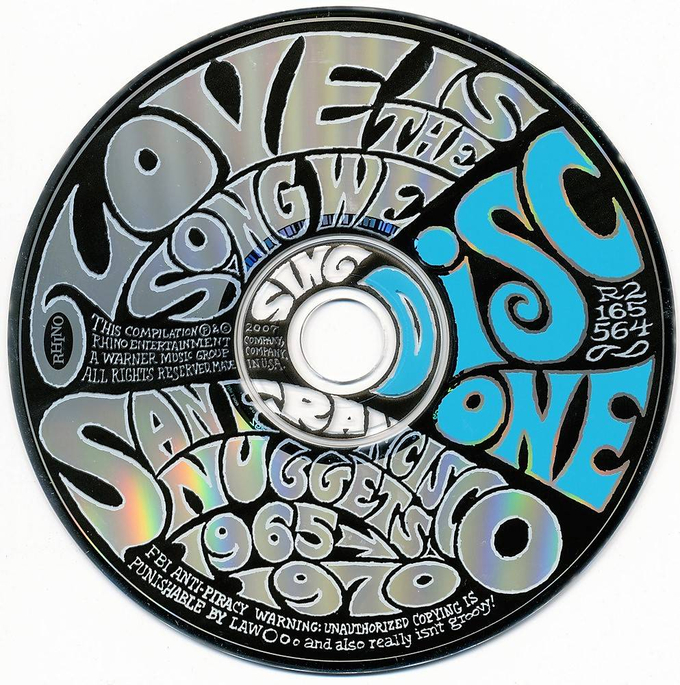V.A. - Love Is The Song We Sing: San Francisco Nuggets 1965-1970 (2007) 4CD Box Set [Repost]