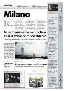 la Repubblica Milano - 30 Novembre 2018