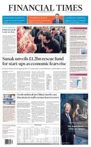 Financial Times UK - April 20, 2020