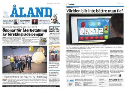 Ålandstidningen – 22 mars 2018