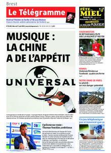 Le Télégramme Brest Abers Iroise – 07 août 2019