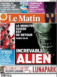 Le Matin du Mercredi 10 Mai 2017