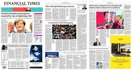 Financial Times Europe – September 25, 2017