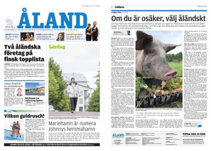 Ålandstidningen – 13 juli 2019