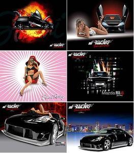 Simoni Racing 08 Wallpapers & Calendar
