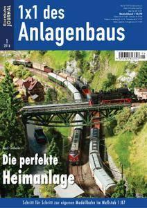 Eisenbahn Journal 1x1 des Anlagenbaus - Nr.1 2016