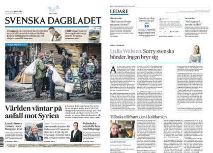 Svenska Dagbladet – 13 april 2018