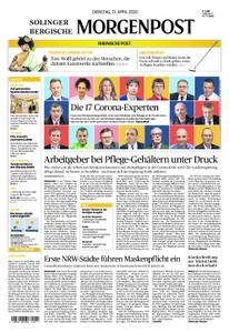 Solinger Morgenpost – 21. April 2020
