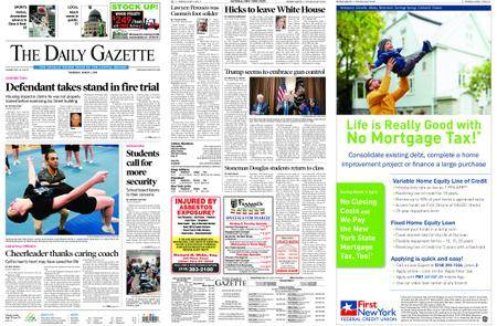The Daily Gazette – March 01, 2018