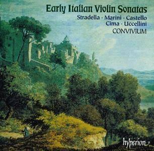 Convivium, Elizabeth Wallfisch - Early Italian Violin Sonatas: Stradella, Marini, Castello, Cima, Uccellini (1998)
