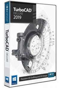 IMSI TurboCAD 2019 Deluxe 26.0 Build 34.1 (x86/x64)
