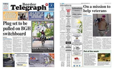 Border Telegraph – June 19, 2019