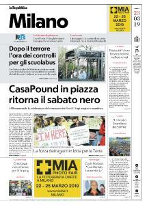 la Repubblica Milano - 23 Marzo 2019