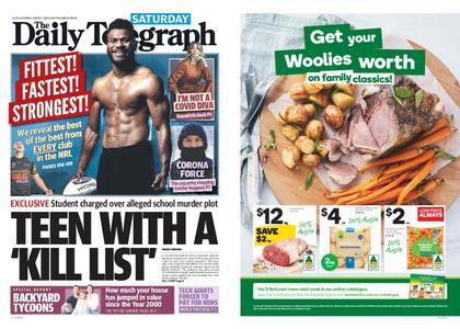The Daily Telegraph (Sydney) – August 01, 2020