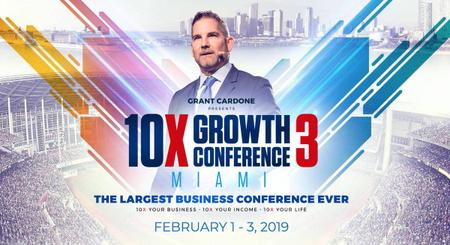 Grant Cardone - 10X Growth Conference 2019