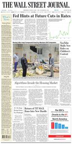 The Wall Street Journal – 20 June 2019