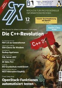 iX Magazin - Dezember 2017