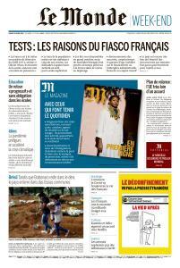 Le Monde du Samedi 25 Avril 2020