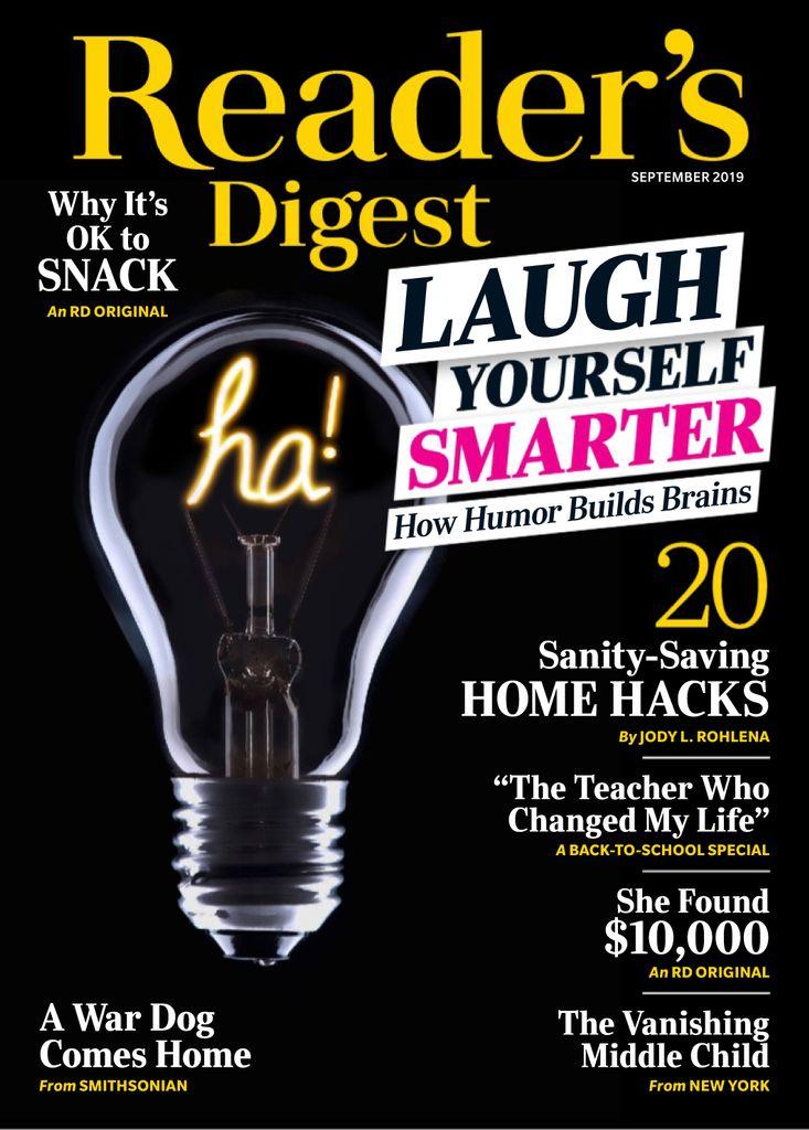 Reader's Digest USA - September 2019